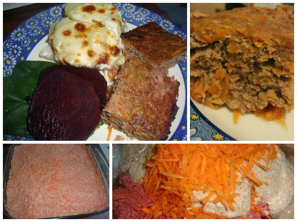 Pastel de Carne y Zanahoria