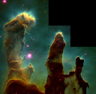 The God who holds the Eagle Nebula in place is also absorbed with my burdens, overwhelming.
