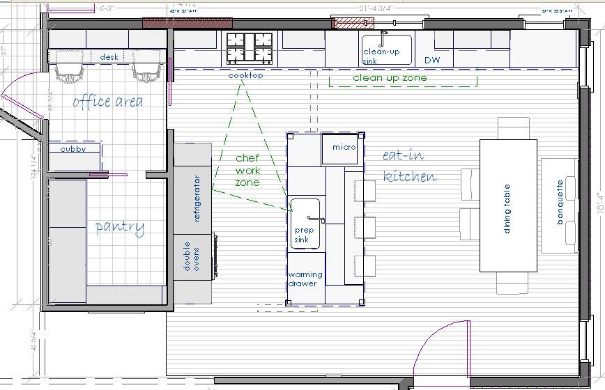 Larder pantry layout joy studio design gallery best design for Pantry blueprints