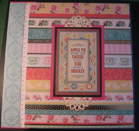 Tutorial Recipe Scrapbook Album