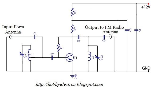 Active Fm Antenna Amplifier Of Fm Booster