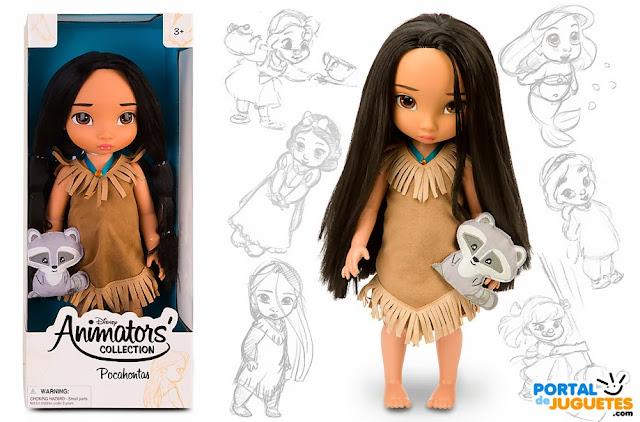 muñeca pocahontas coleccion animators