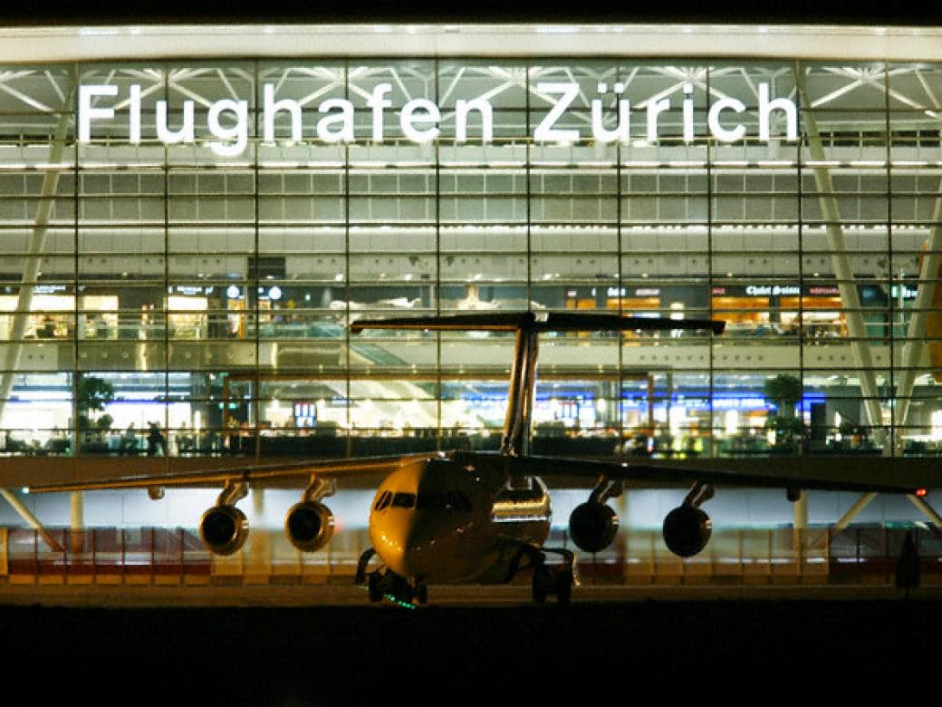 Bandara Zurich, Swiss