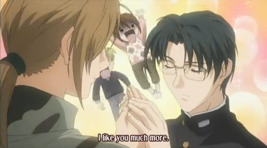 Ghost Hunt Anime Yasuhara's i love you