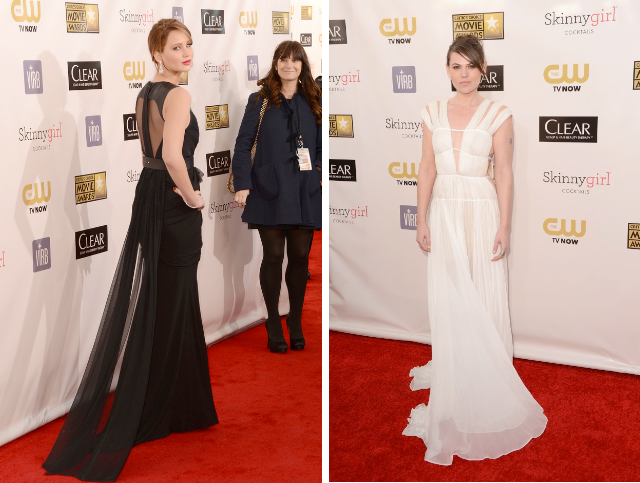 critic's choices awards 2013, jennifer lawrence and clea duvall