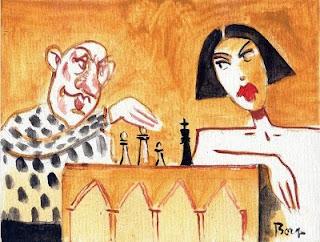Illustration du jeu d'échecs