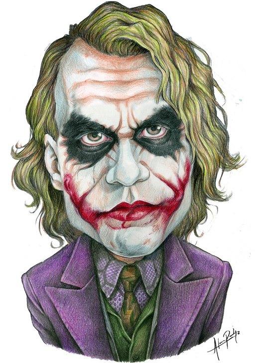 Joker bust por AlanRodriguez