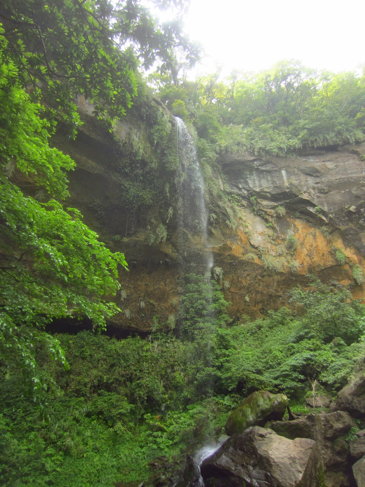 The tallest of the Sandiaoling Waterfalls in Taiwan.