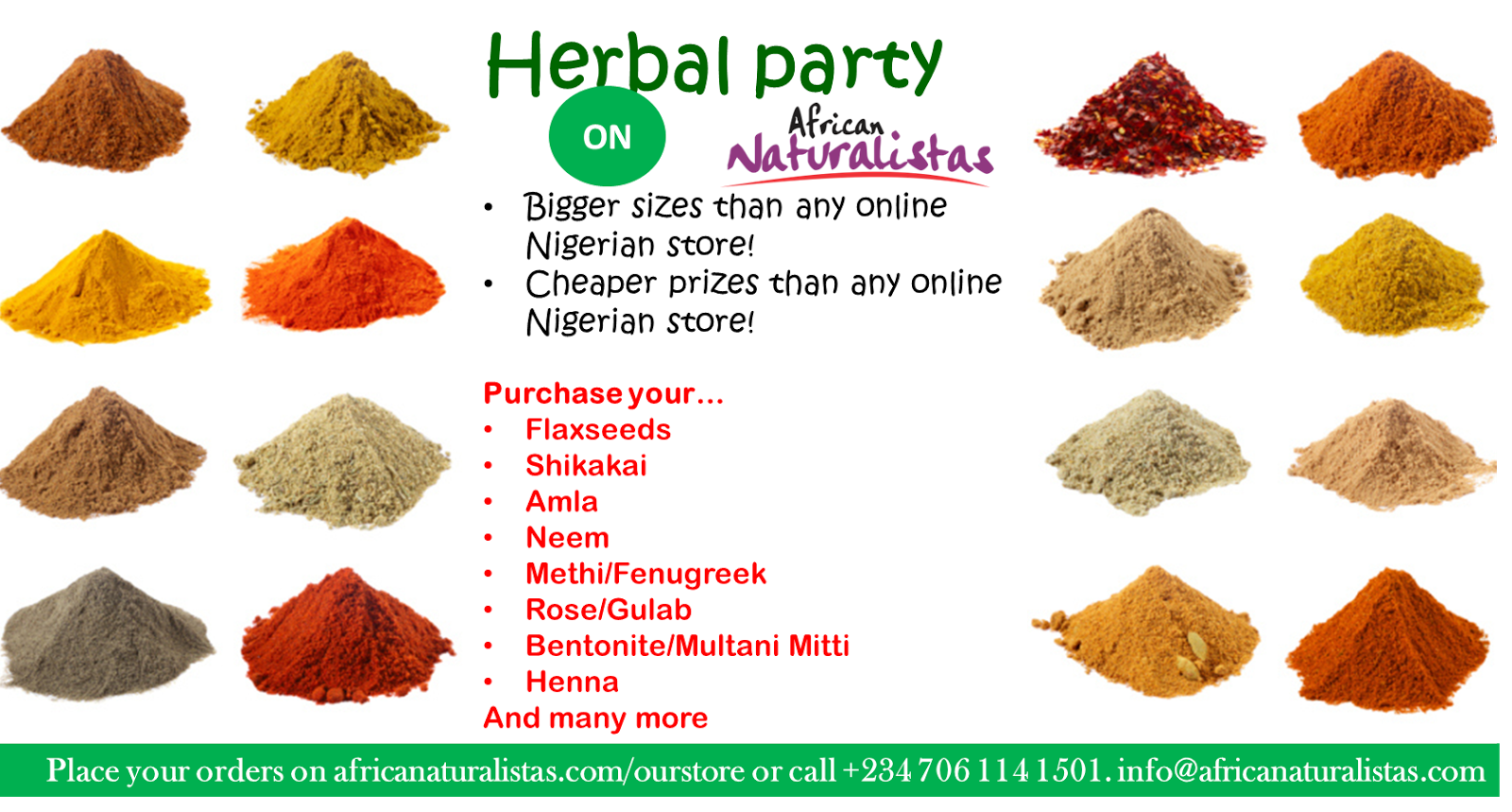 Herbal Party on African Naturalistas
