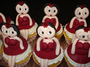 Betty Boob Cupcakes