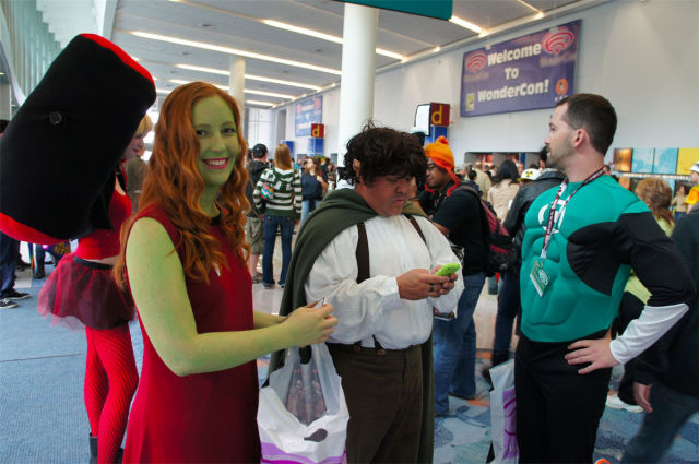 SmileCampus WonderCon 2012 Cosplayers