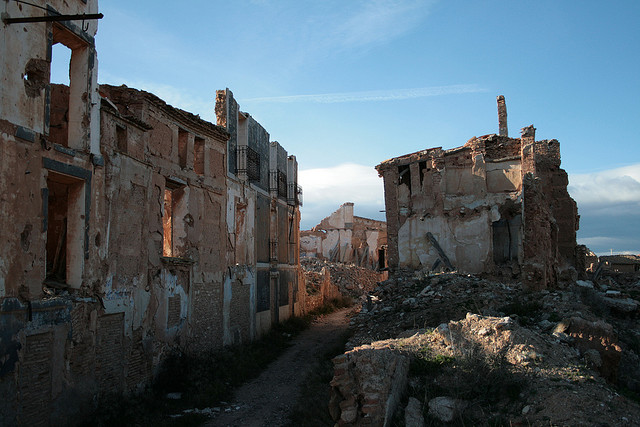 LA GUARIDA DE VIRIATO: El pueblo fantasma de Belchite