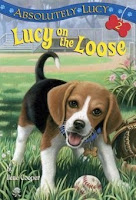 bookcover of  LUCY ON THE LOOSE (Absolutely Lucy, #2) by Ilene Cooper