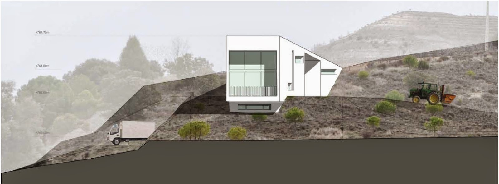 Arquitectura arquidea proyecto de bodega valdemonjas for Proyectos arquitectura