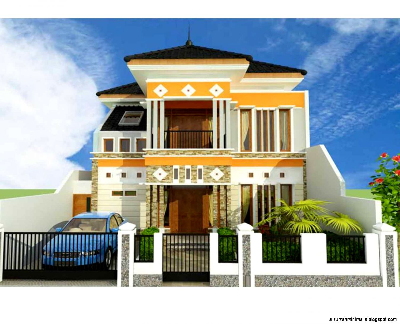 rumah minimalis 2 lantai desain rumah minimalis 2 lantai type 90