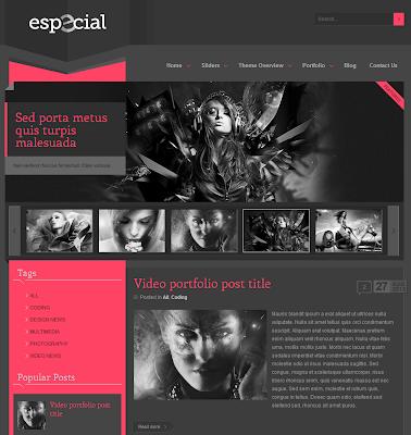 eSpecial Blogger Theme