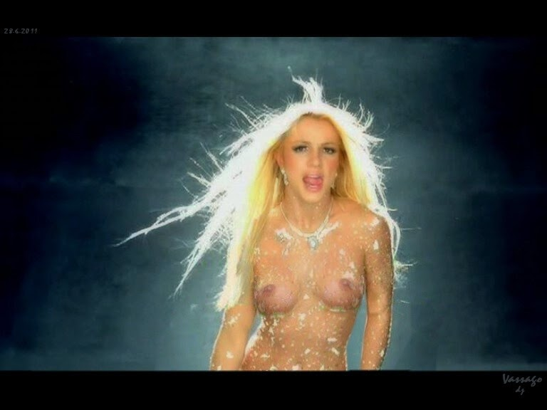 Nude boobs spears britney
