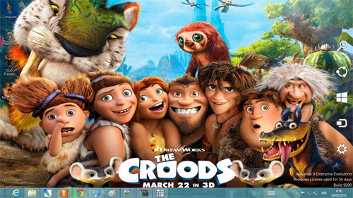 The Croods Theme For Windows 7 And 8