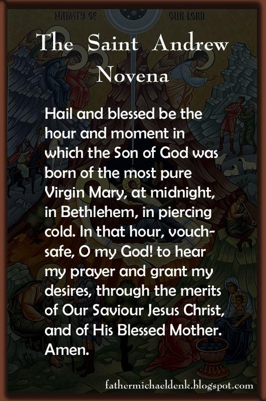Father Michael Denk's Blog: November 2012
