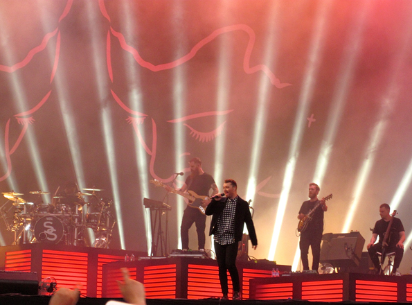 Sam Smith T in the Park 2015