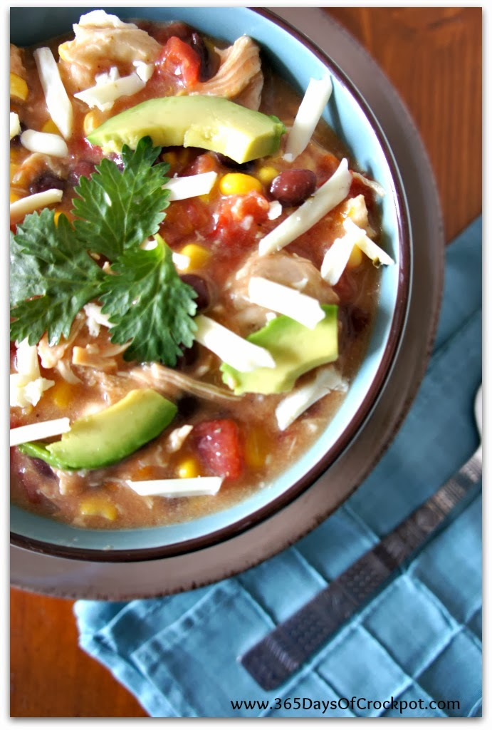of Slow Cooking: Recipe for Creamy Slow Cooker Creamy Tortilla Soup ...