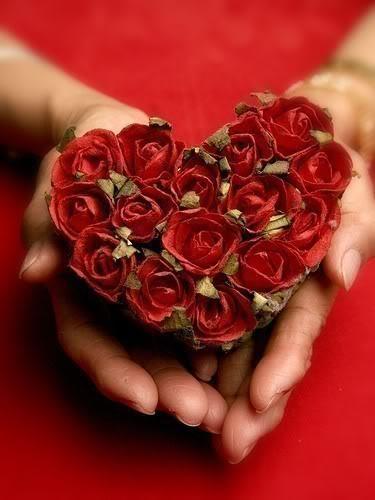 gifs de flores corazon hermosas
