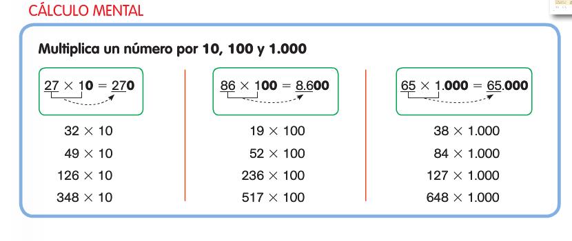 Multiplicando por 10,100. 1.000