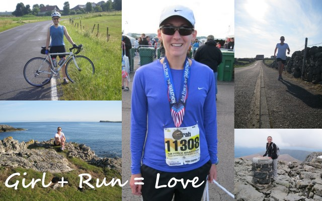 Girl + Run = Love