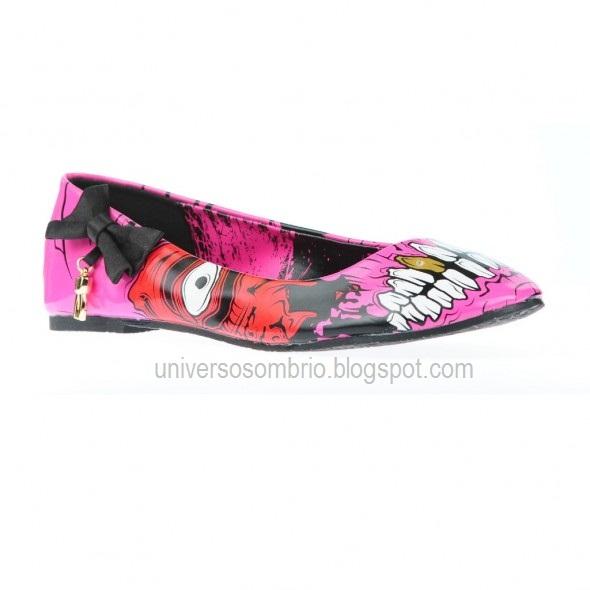 Moda Zombie Sapatos Iron Fist