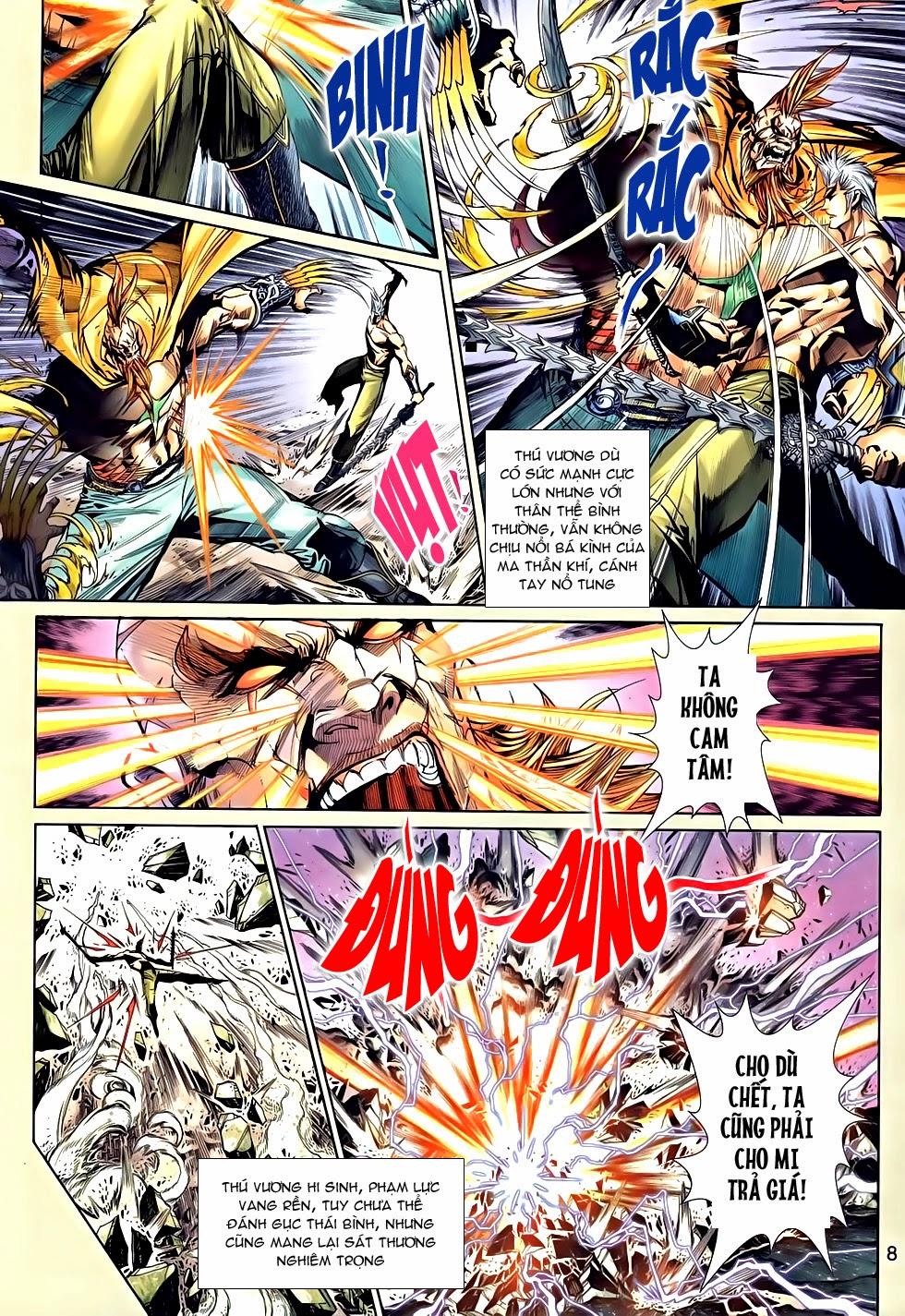 Thần Binh Tiền Truyện 2 chap 21 Trang 8 - Mangak.info