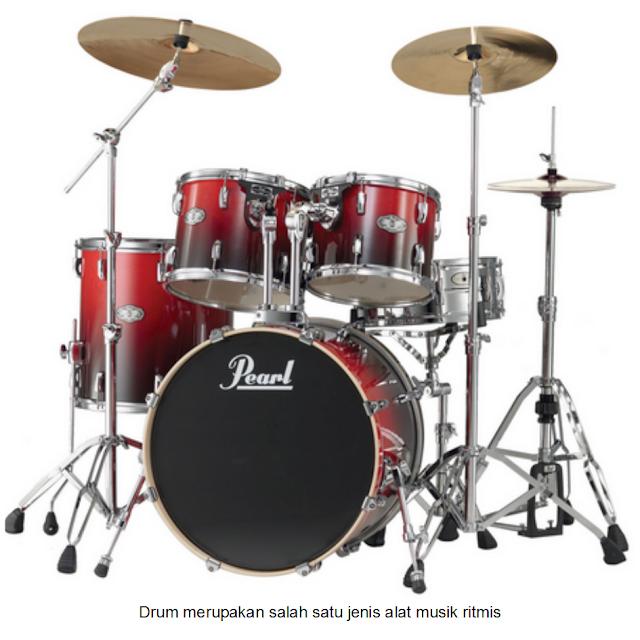 Drum merupakan salah satu jenis alat musik ritmis