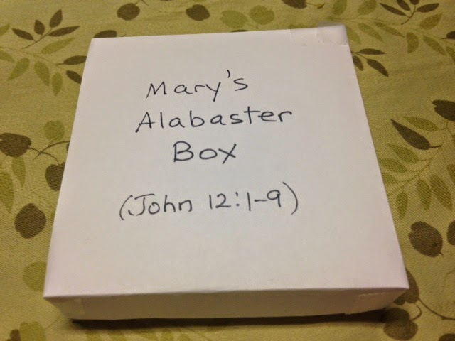 Mary's Alabaster Box Sermon by Shawn Rose, Mark 14:1-11 ...