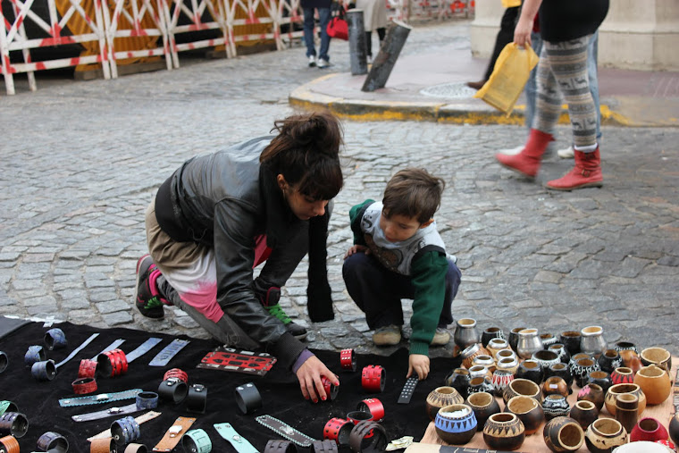Søndagsmarked i San Telmo