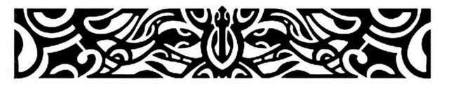 Armband Maori turtle tattoo stencil