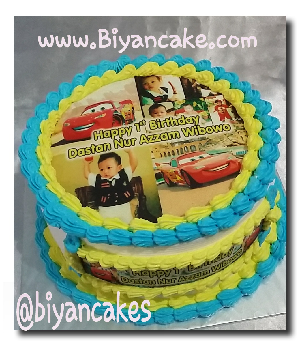 Kue tart the cars ~ Dastan