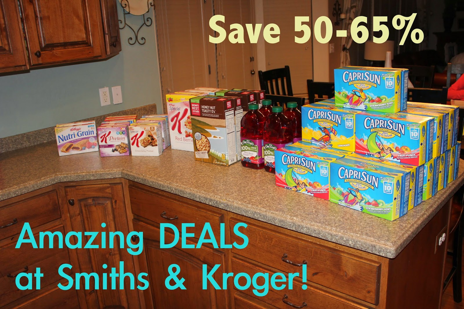 Great grocery deals at smiths and kroger this week!