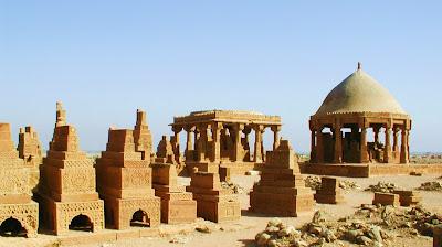 (Pakistan) - Karachi - The Tombs of Chaukundi