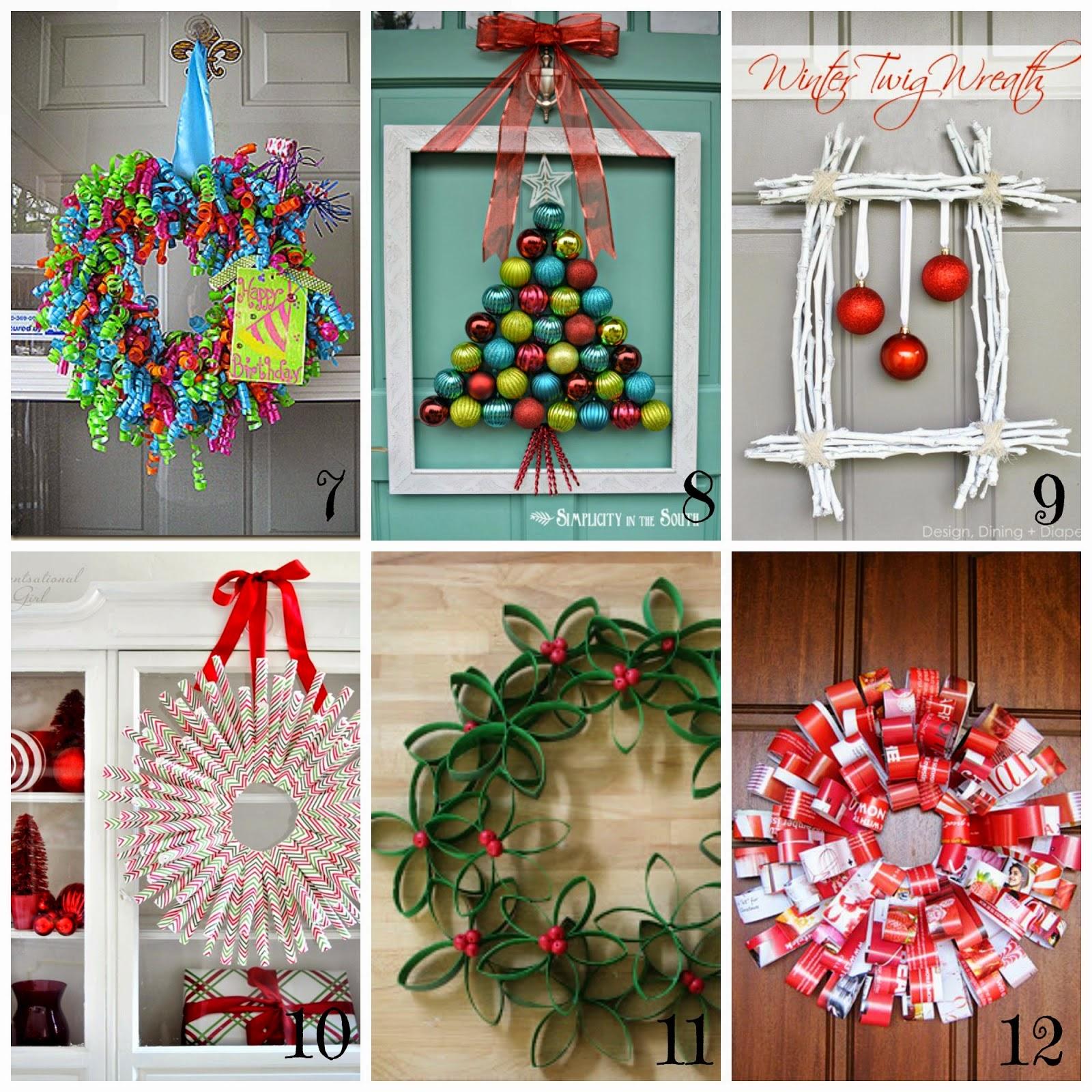 Ghirlande di Natale fai da te - 12 tutorial semplici e veloci ...