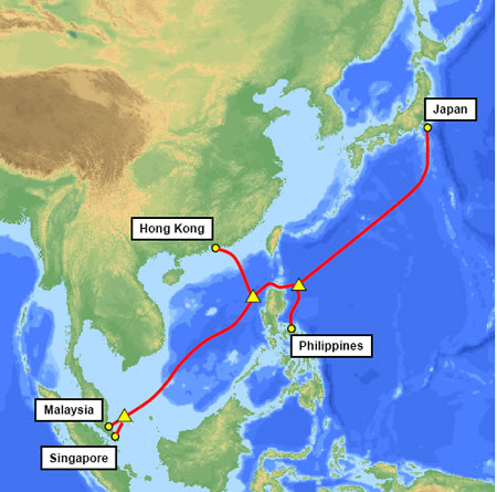 Submarine cable linked philippines hk japan singapore malaysia submarine cable linked philippines hk japan singapore malaysia completed gumiabroncs Choice Image
