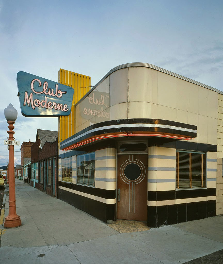 Mad for mid century streamline moderne and mid century modern for Restaurant moderne