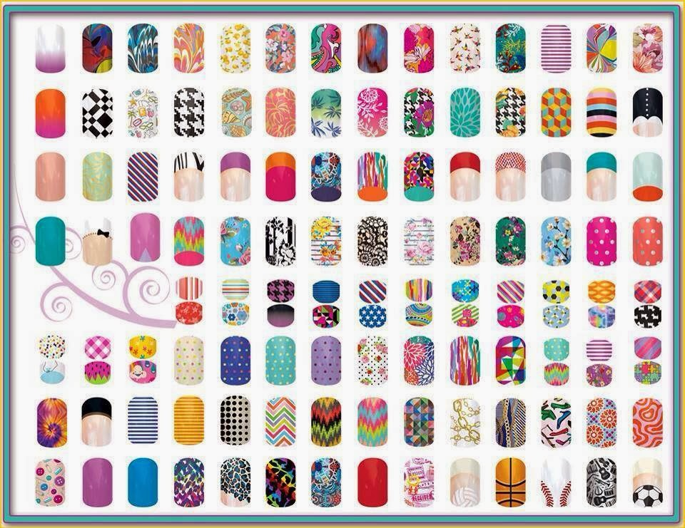 of Jamberry Nail Wraps