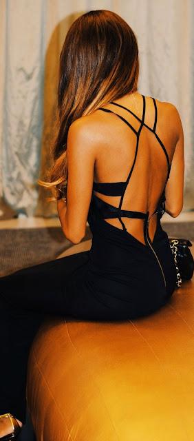 #street #style black dress