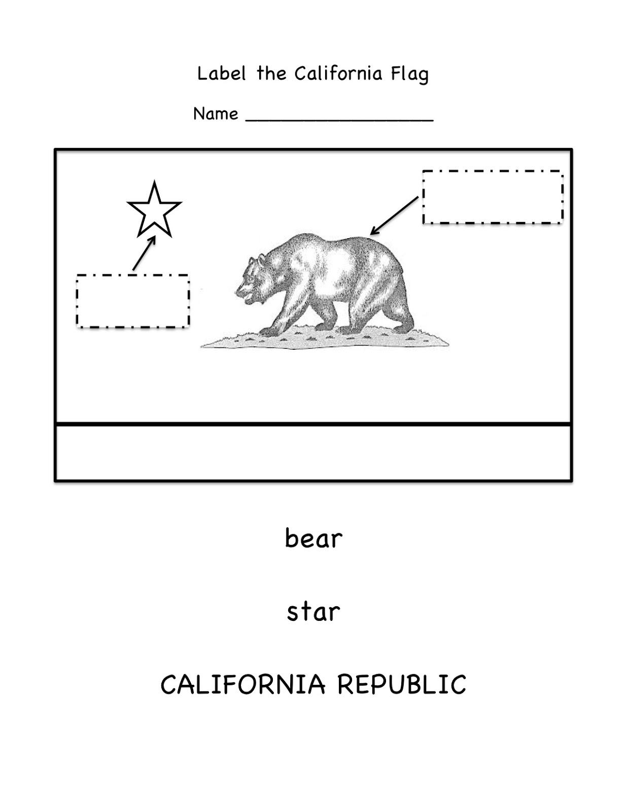 Kinder learning garden california symbols here are samples of the worksheets we created as follow up activities to help sts remember what they learned get them for free at tpt altavistaventures Gallery