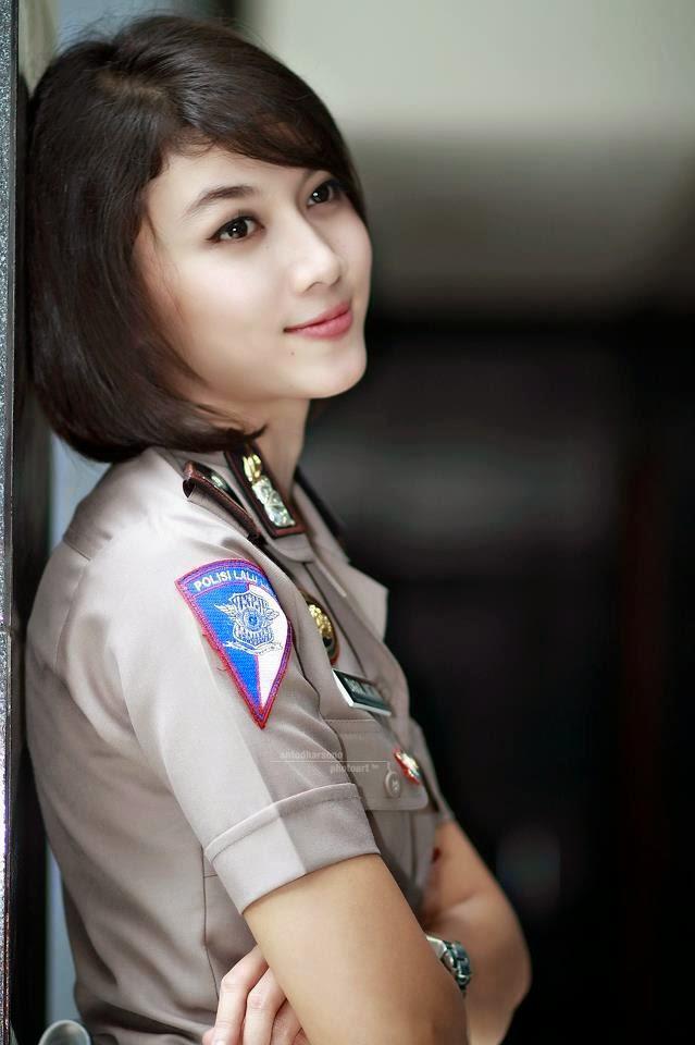 cantiknya indonesia 5 indonesian beautiful police woman