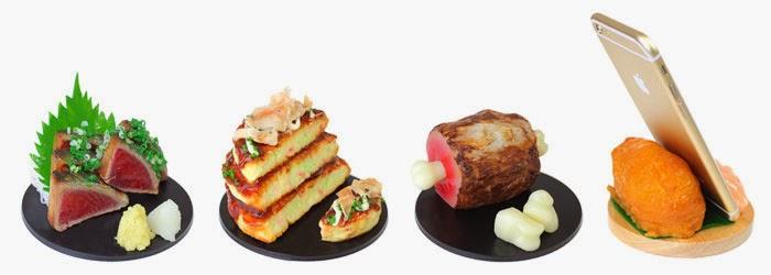 soportes comida japonesa
