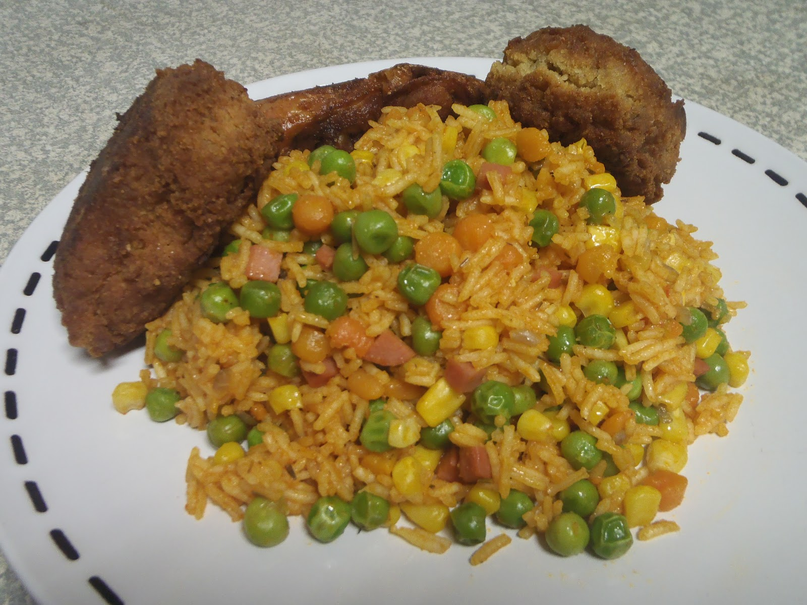 Judith audus blog playing with recipes jollof rice jollof rice and chickengerian style ccuart Gallery