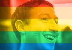 Profil FB Warna-warni dan LGBT