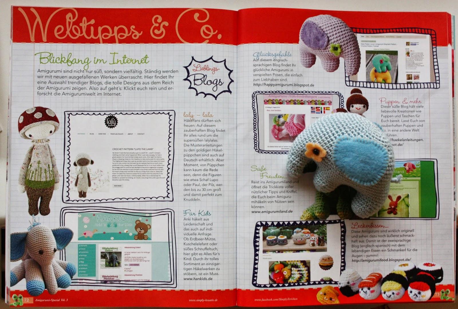 Amigurumi Magazine Subscription : Happyamigurumi: My Amigurumi blog in magazine