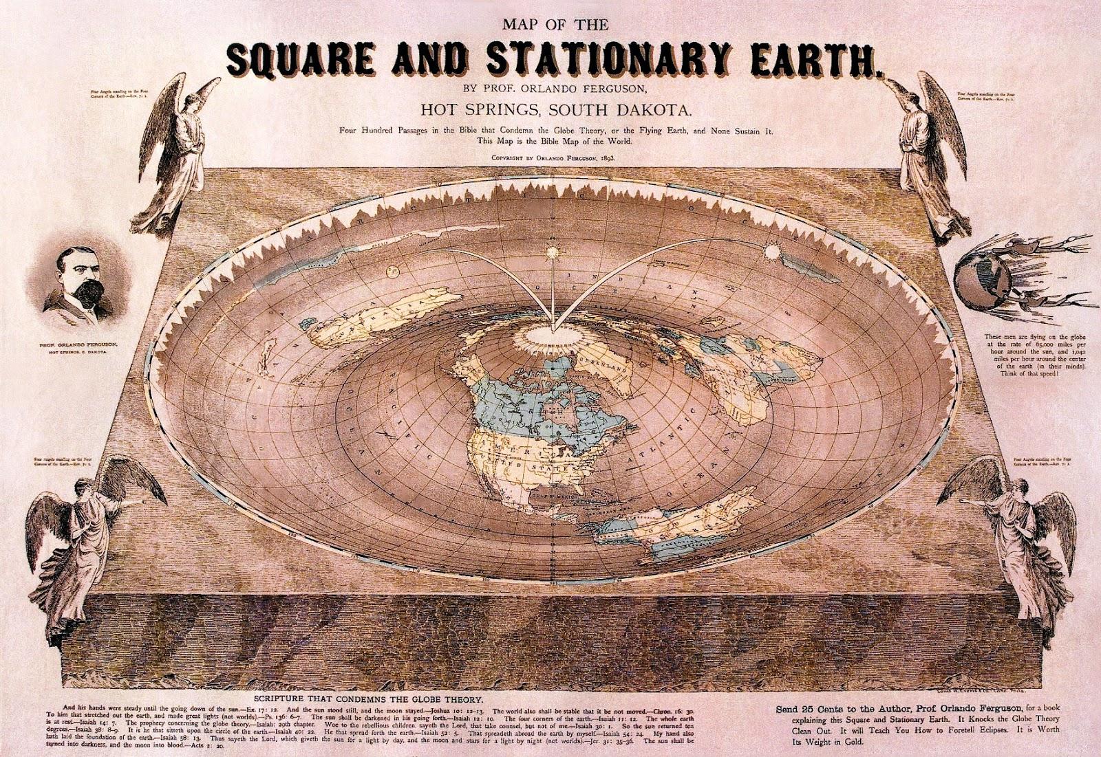 Ancient World Maps: World Map 19th Century