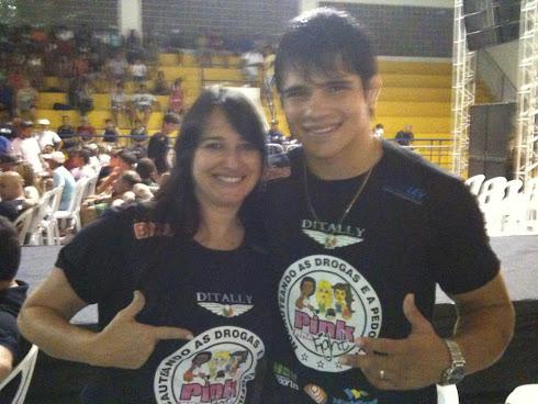 Marta Lança e Erick / UFC - Pink Fight MMA Feminino - Campos /RJ